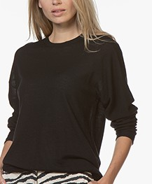 Joseph Osize Cashmere Sweater - Black