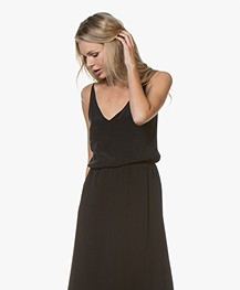 Denham Rose Cupromix Camisole - Zwart