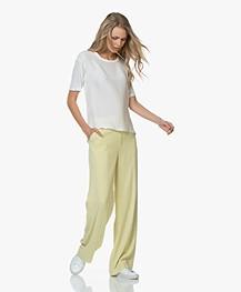 Filippa K Hutton Crepe Pants - Wax