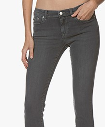 HUGO Gilljana Skinny Jeans - Medium Grey