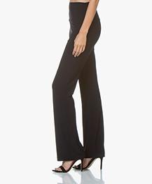 Norma Kamali Travel Jersey Boot Pant - Midnight