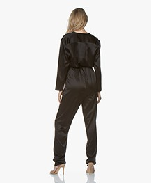 extreme cashmere N°72 All-over Jumpsuit - Zwart