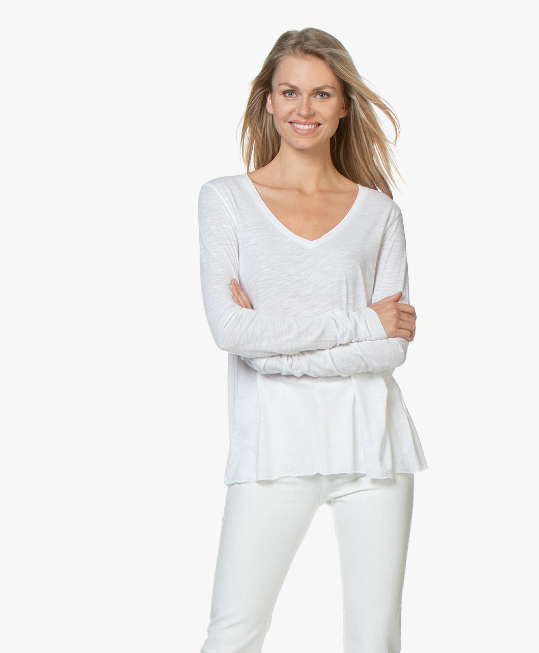Immagine di American Vintage Jacksonville Long Sleeve White