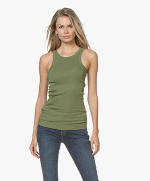 By Malene Birger Amiee Tank Top - Olivine