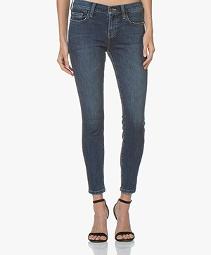 Current/Elliott The Stiletto Skinny Jeans - Blauw 1 Year Worn