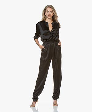 extreme cashmere N°72 All-over Jumpsuit - Black
