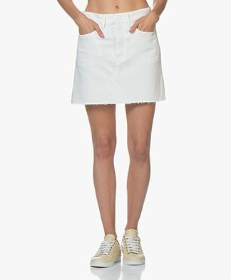 Denham Pearl Denim Skirt - Ecru