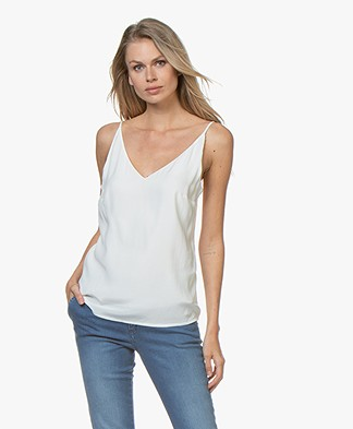 Denham Rose Cupro Blend Camisole - OFF WHITE