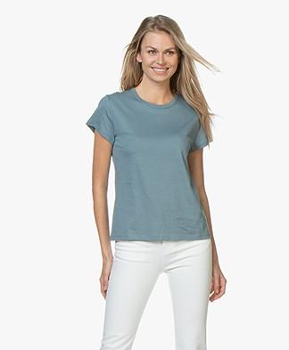 Filippa K Flared Cap Sleeve T-shirt - River
