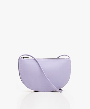 Monk & Anna Farou Half Moon Vegan Cross-Body Bag - Lilac