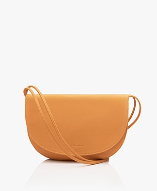 Monk & Anna Soma Half Moon Vegan Cross-Body Bag - Honey