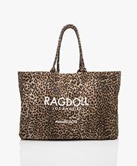 Ragdoll LA Holiday Canvas Tas - Brown Leopard