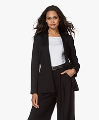 By Malene Birger Nivelle Tailored Open Blazer - Black