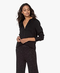 Filippa K Pull-on Silk Blouse - Black