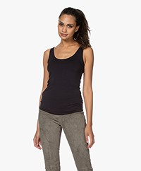 Majestic Filatures Abby Soft Touch Jersey Tanktop - Marine