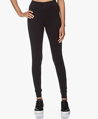 American Vintage Sonicake Rib Jersey Leggings - Vintage Black