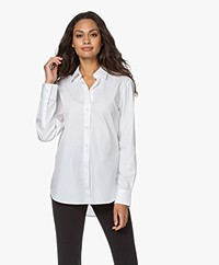 Filippa K Jane Organic Cotton Poplin Shirt - White