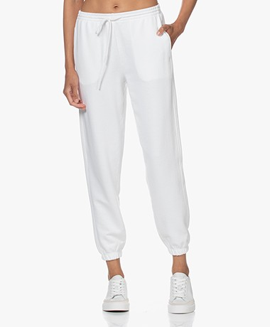 Vince Essential French Terry Sweatpants - Optic White