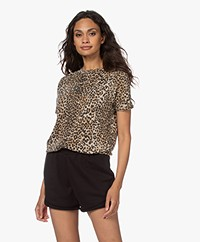 Ragdoll LA Easy Vintage Print T-shirt - Bruin Leopard