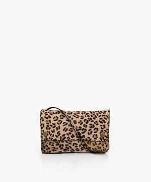 by-bar Julie Hairy Cross-body Bag - Leopard