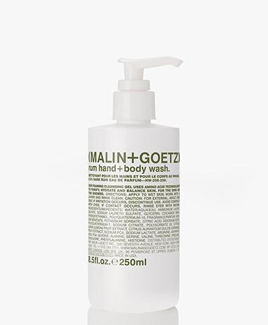 MALIN+GOETZ Rum Hand+Body Wash - 250ml