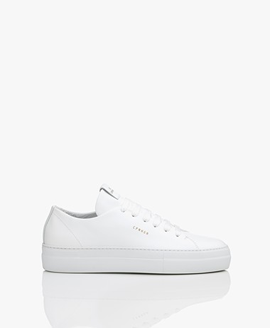 Copenhagen Studios Low Leather Sneakers - White