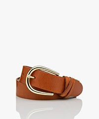 Josephine & Co Jade Leather Belt - Cognac