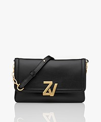 Zadig & Voltaire Initiale Cross-body Bag - Black