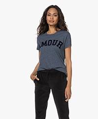 Zadig & Voltaire Walk Amour Print T-shirt - Bleu Uniforme
