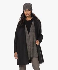 Wolford Neytiri Virgin Wool Beanie - Kamut/Black