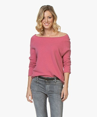 LaSalle Cashmere Boothals Trui - Sorbet