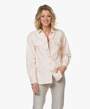 Closed Deryn Denim Overhemdblouse - Peony