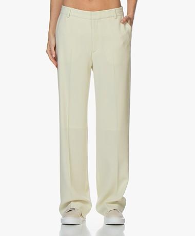 Filippa K Hutton Crepe Pants - Faded Yellow