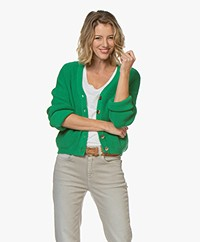 Marie Sixtine Gustave Cotton Cardigan - Tilleul