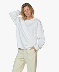 Filippa K Soft Sport Seam Oversized Sweatshirt - White