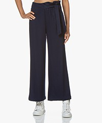 Marie Sixtine Francis Wide-leg Pants - Sailor