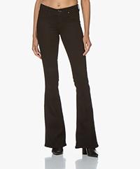 Denham Farrah Flare Fit Jeans - Zwart