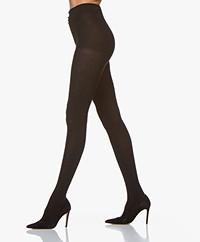 FALKE Finest Cashmere Tights - Black