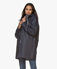 Stutterheim Mid-length Stockholm Raincoat - Navy