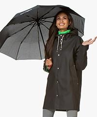 Stutterheim Borgholm Automatische Vouw Paraplu - Zwart