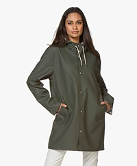 Stutterheim Mid-length Stockholm Raincoat - Green