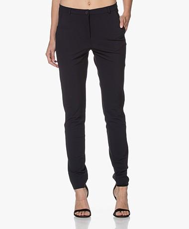 JapanTKY Lyba Travel Jersey Pantalon - Zwartblauw