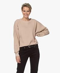 American Vintage Bowilove Wafelsteek Sweater - Vintage Old Pink