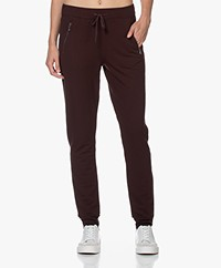 Majestic Filatures Viscose French Terry Sweatpants - Aubergine