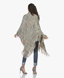 Manos del Uruguay Cadaquez Triangle Sjaal - Pastel