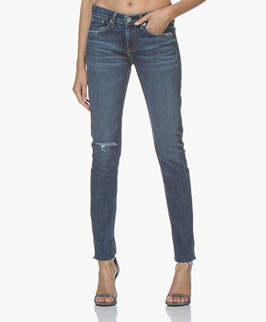 Rag & Bone Dre Slim-Fit Boyfriend Jean - Jave Blue