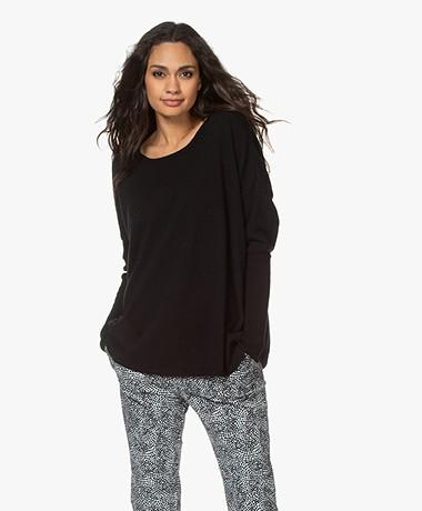 Sibin/Linnebjerg Neva Merino Blend Sweater - Black