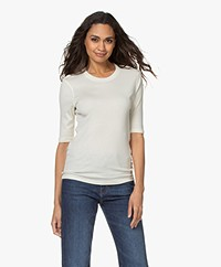 Closed Modal Blend Rib T-shirt - Pistachio