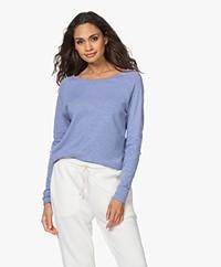 American Vintage Sonoma Slub Sweatshirt - Vintage Bluish