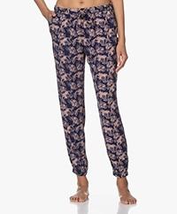 Calvin Klein Inked Iris Printed Pajama Pants - New Navy